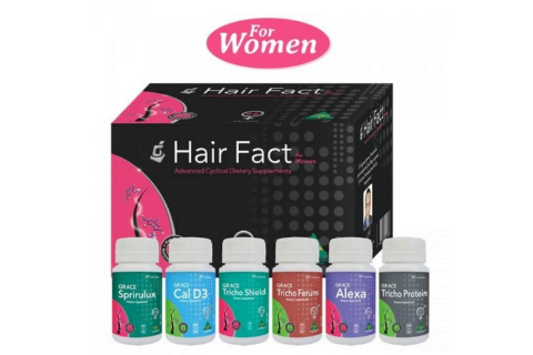 Hair Facts Vitamin Woman