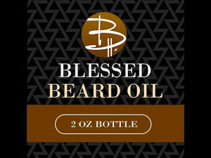 Load and play video in Gallery viewer, Blessed Beard Oil Custom Blend