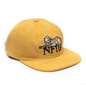 Funky Kitten<br> NFID Corduroy 6 Panel Hat