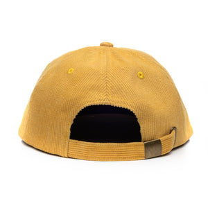 Funky Kitten<br> Honey Mustard<br> Corduroy 6 Panel Hat