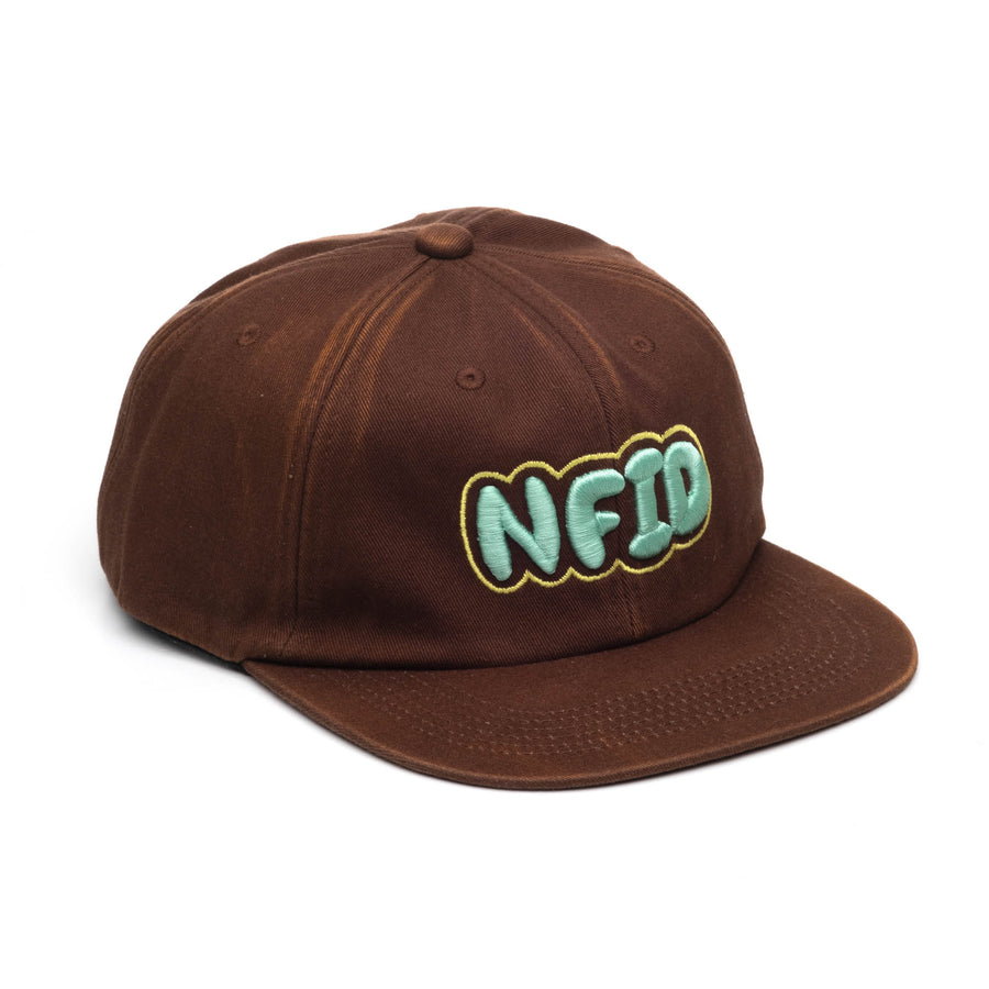 Bubble Brain<br> Faded Cotton Twill NFID Hat