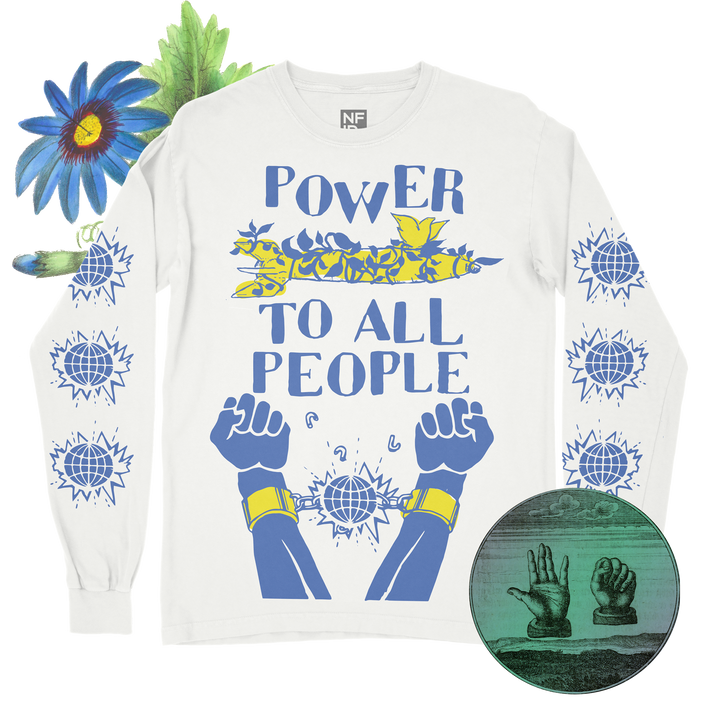 Power to All People<br> NFID Long Sleeve Shirt