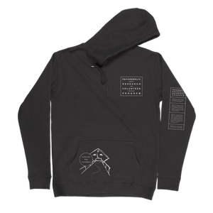 Psychedelic Research Program<br> NFID Hooded Sweatshirt<br> Black
