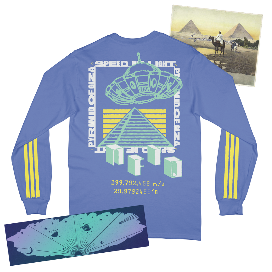 Pyramids of Light<br> NFID Long Sleeve T-Shirt
