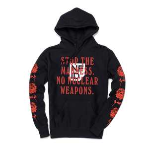 War is Hell<br> NFID Hooded Sweatshirt<br> Black