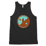 Praying Monk AZ Yin Yang on Unisex Tank Top