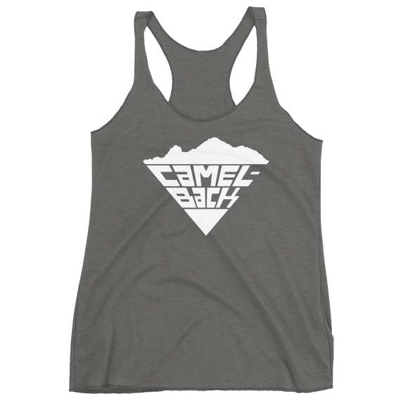 Super Camelback White Hot on Women's Racerback Tank