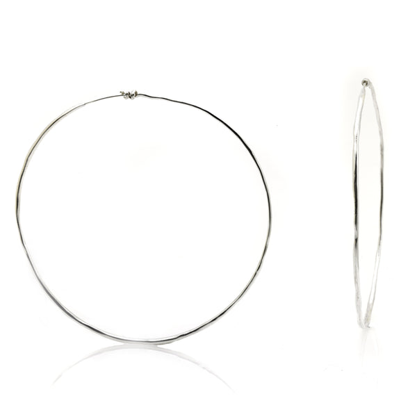 Leon Hoops Earrings- Ariana Boussard-Reifel