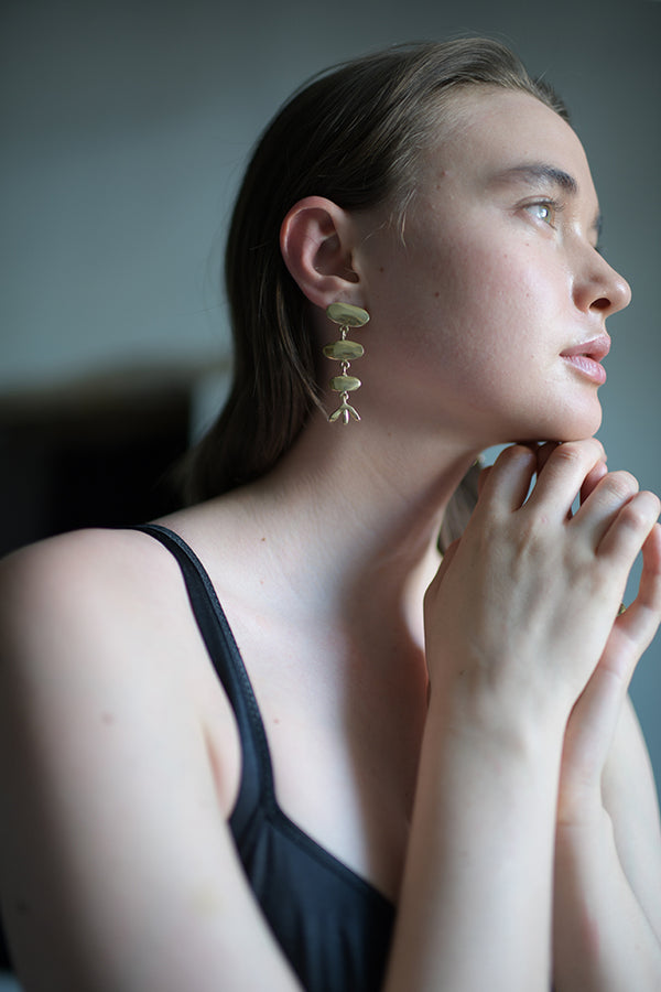Papyrus Earrings - Short