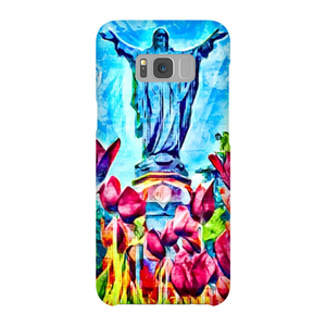 Statue of the Sacred Heart (Phone Case)