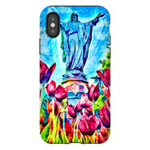 Load image into Gallery viewer, Statue of the Sacred Heart (Phone Case)