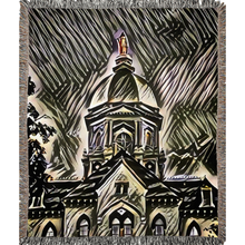 Load image into Gallery viewer, Our Lady on the Dome (Woven Blankets)