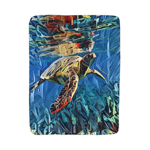 Under the Sea (Sherpa/Fleece Blanket)
