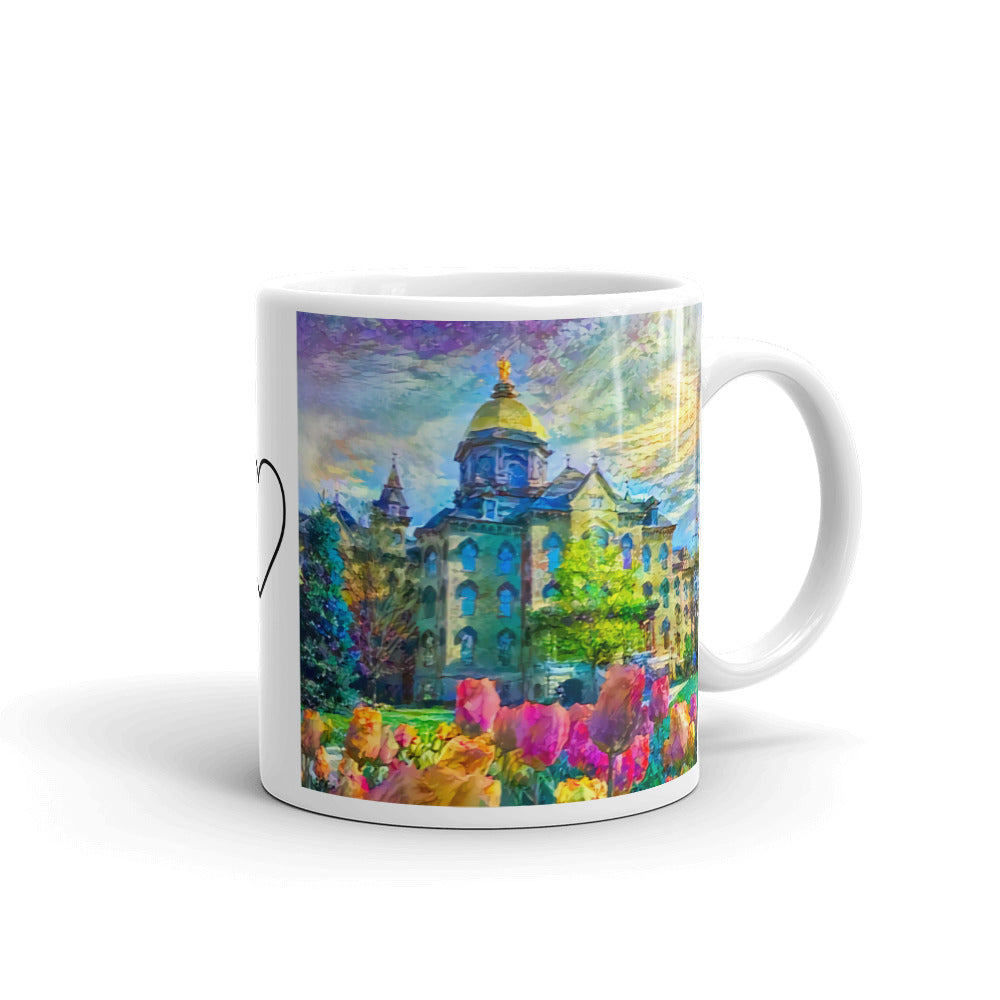 Tulips and the Dome (Mug)
