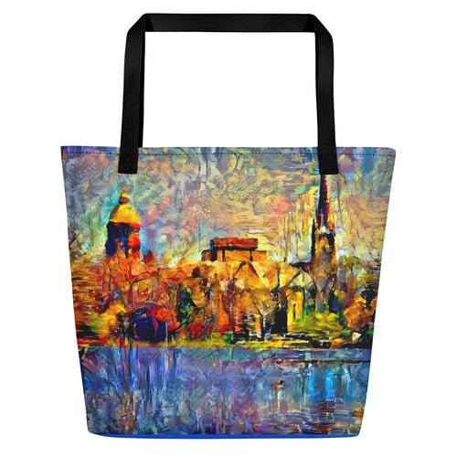 Notre Dame: Across the Lake (Shoulder Bag)