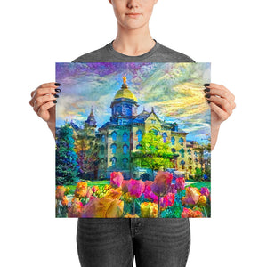 Tulips and the Dome (Archival Print)