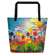 Load image into Gallery viewer, Field of Flowers (Shoulder Bag)