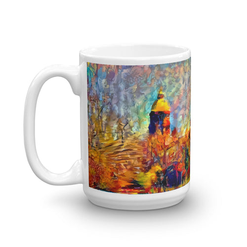 Notre Dame: A View From the Lake (Mug)