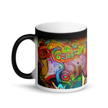 Load image into Gallery viewer, Abstract Tulips (Magic Mug)