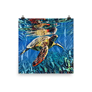 Under the Sea (Archival Print)