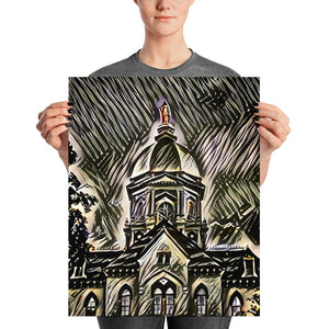 Our Lady on the Dome (Archival Print)