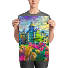 Load image into Gallery viewer, Tulips and the Dome (Archival Print)