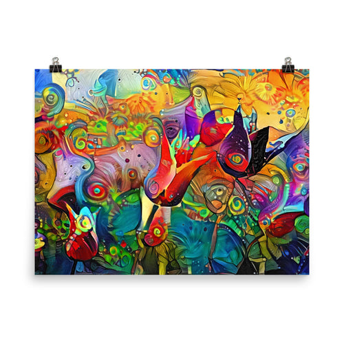 Tulips in Abstract (Archival Print)
