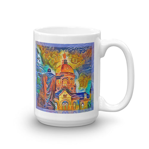 Sacred Heart and the Dome (Mug)