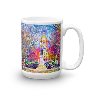Statue of Father Sorin at Notre Dame (Mug)