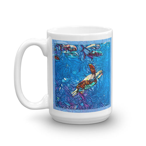 Going for a Swim (Mug)