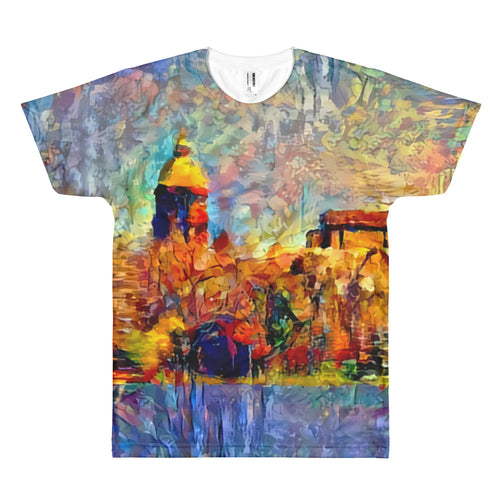 Notre Dame: Across the Lake (T-shirt)