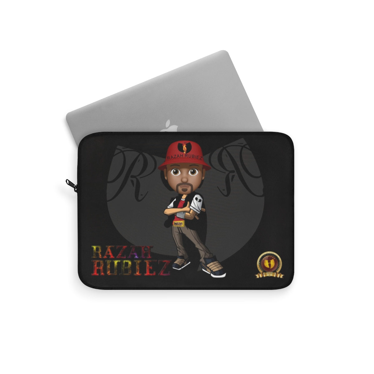 RAZAH RUBIEZ Official HellRazah Music Inc. Collectors Laptop Sleeve HeavenRazah Merch Graphics by SmuveMassBeatz