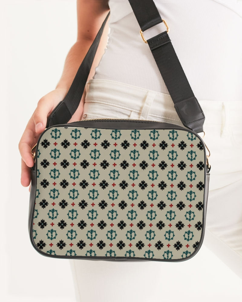 Razah Renaissance Apparel Executive Designer Print Crossbody Bag