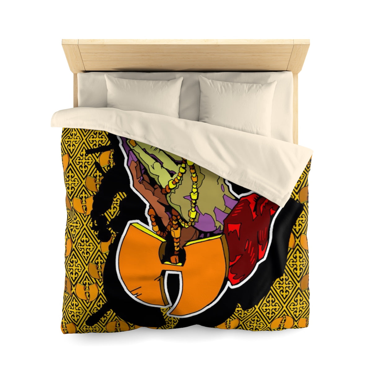 HRMI BLESSED Official HellRazah Music Inc. Designer Microfiber Duvet Cover - HeavenRazah