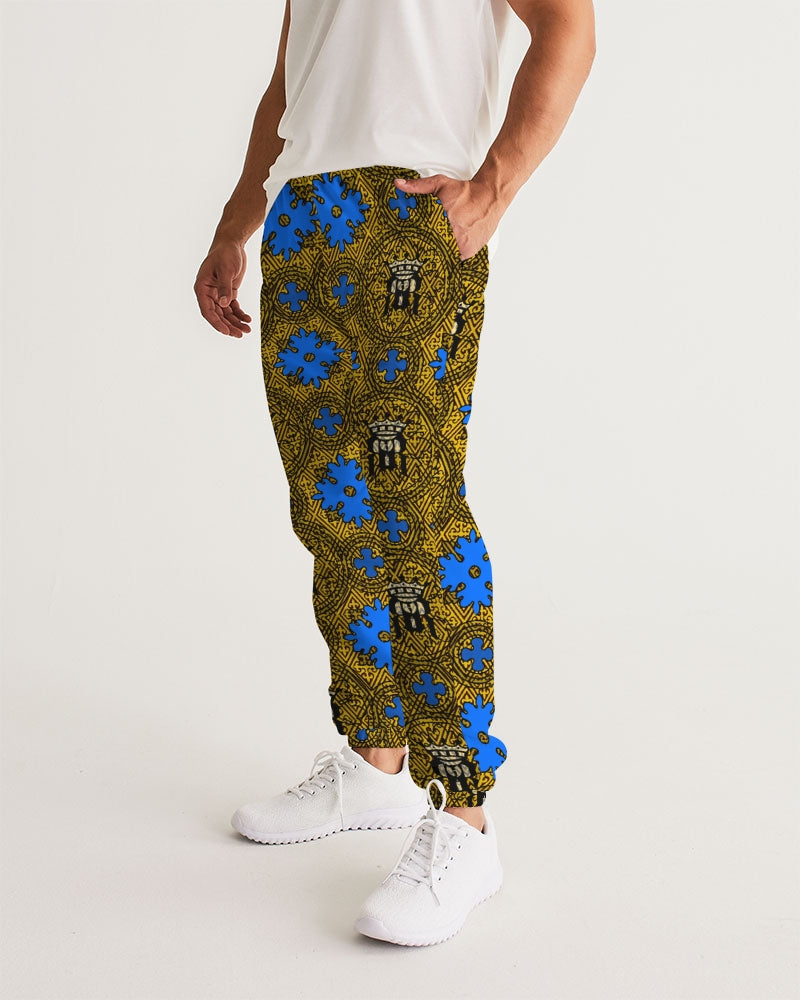 Renaissance Apparel Golden Designer Men's Track Pants