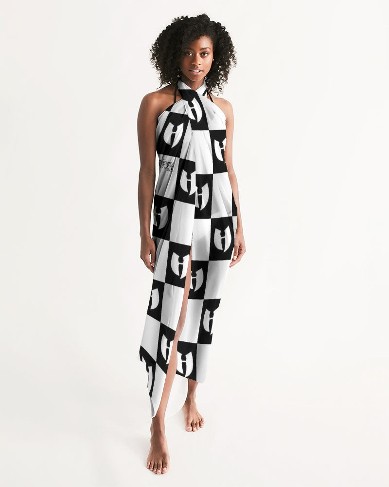 Renaissance Chessboard Lounge Wear - Swim Cover Up