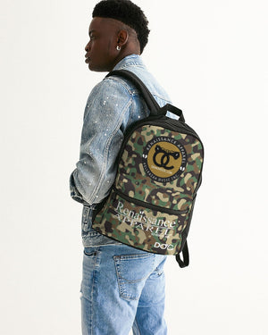 Razah Renaissance Apparel Camouflage  Small Canvas Backpack