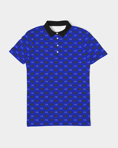 Blue Samurai Men's Slim Fit Short Sleeve Polo