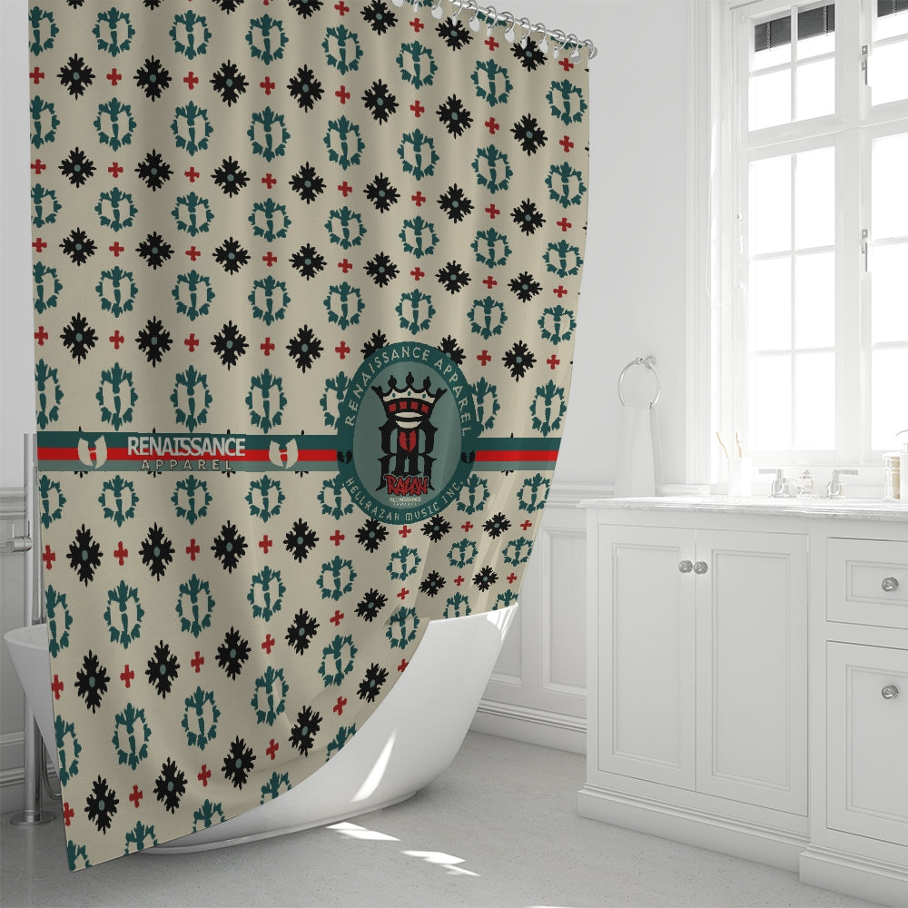 "Renaissance Apparel Executive Design Signature Shower Curtain 72""x72"""