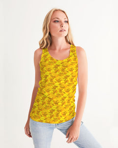 Golden Camo Women's Tank