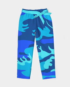 Grand Azul Camo Women's Belted Tapered Pants