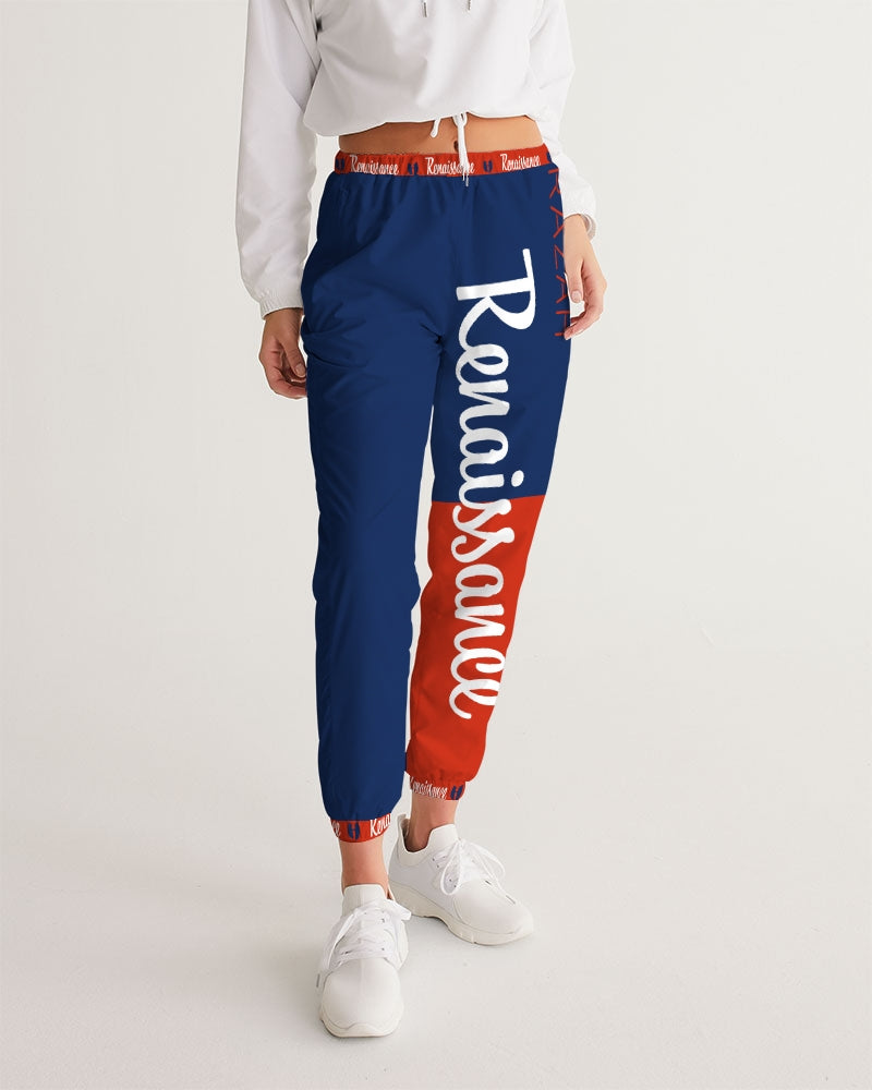 RAZAH RENAISSANCE RED WHITE BLUE DESIGNER Women's Track Pants