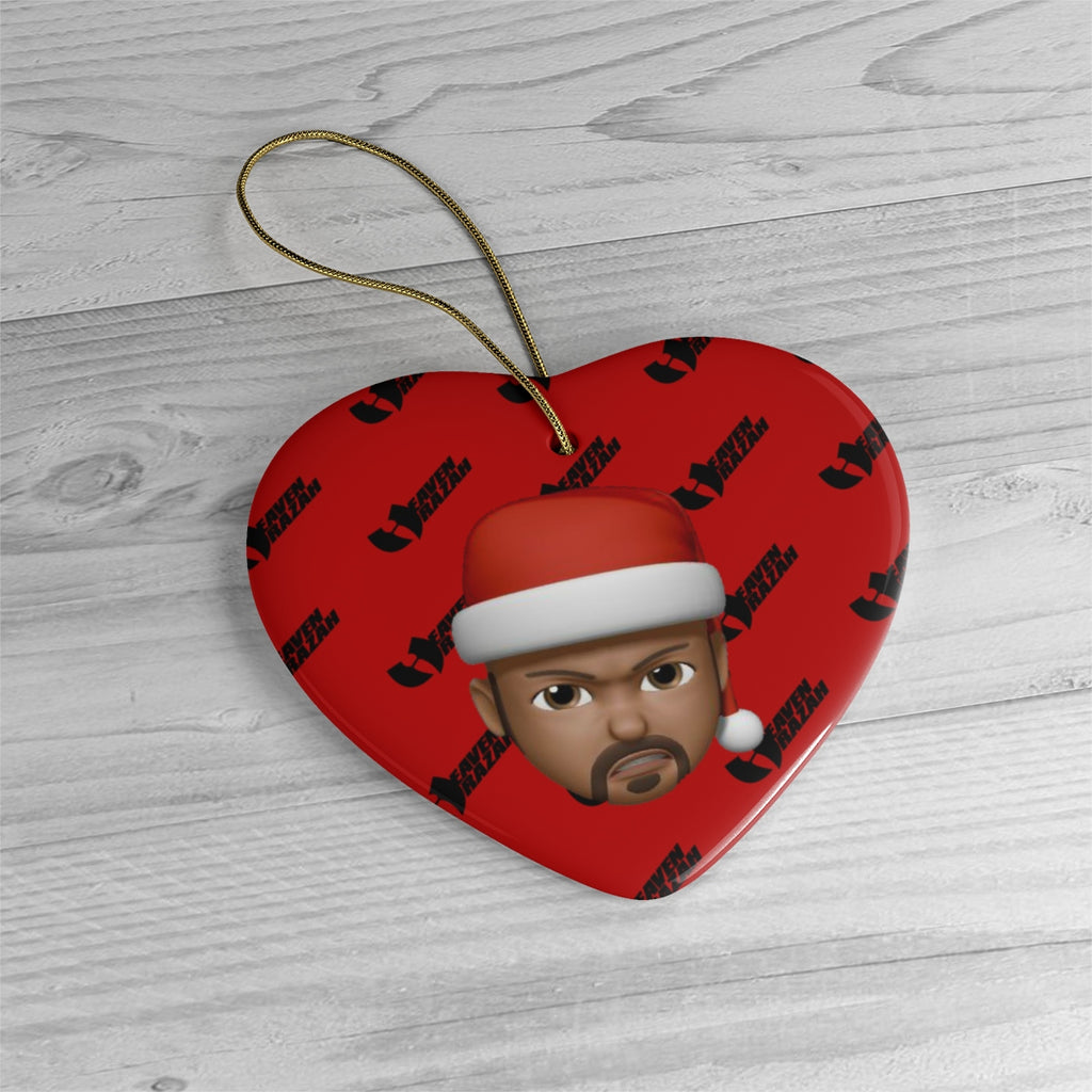 12 Days of Renaissance Heaven Razah Limited Edition Ceramic Heart Christmas Ornament