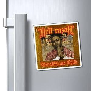 Renaissance Child Cover Art - HellRazah Music Inc. Collectible Magnet