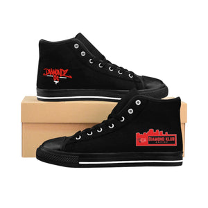 Diamond Klub Empire Apparel by DiamondzOC Designer Men's High-top Sneakers DKE - DKA