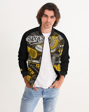 Freedom + Style Men's Bomber Jacket by DiamondzOC