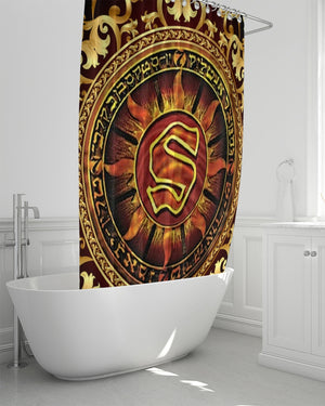 "Wu Files 10 Hosted by Sunz Of Man Album Cover Shower Curtain 72""x72"""
