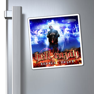 HeavenRazah Cover Art - Official HellRazah Music Inc. Collectible Magnet