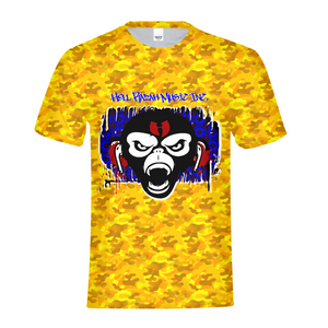 Golden Camo Kids Tee