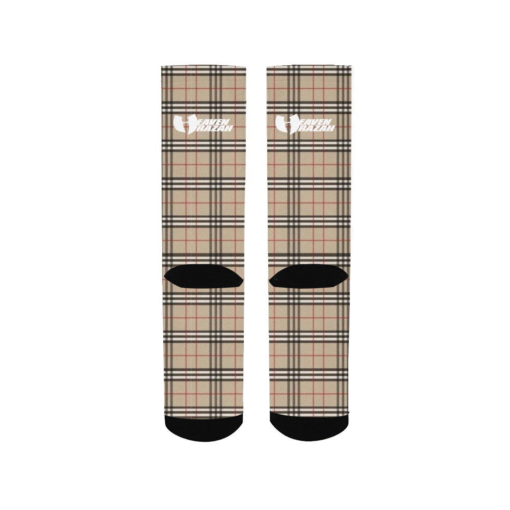 Renaissance Apparel Designer Plaid Men's Socks